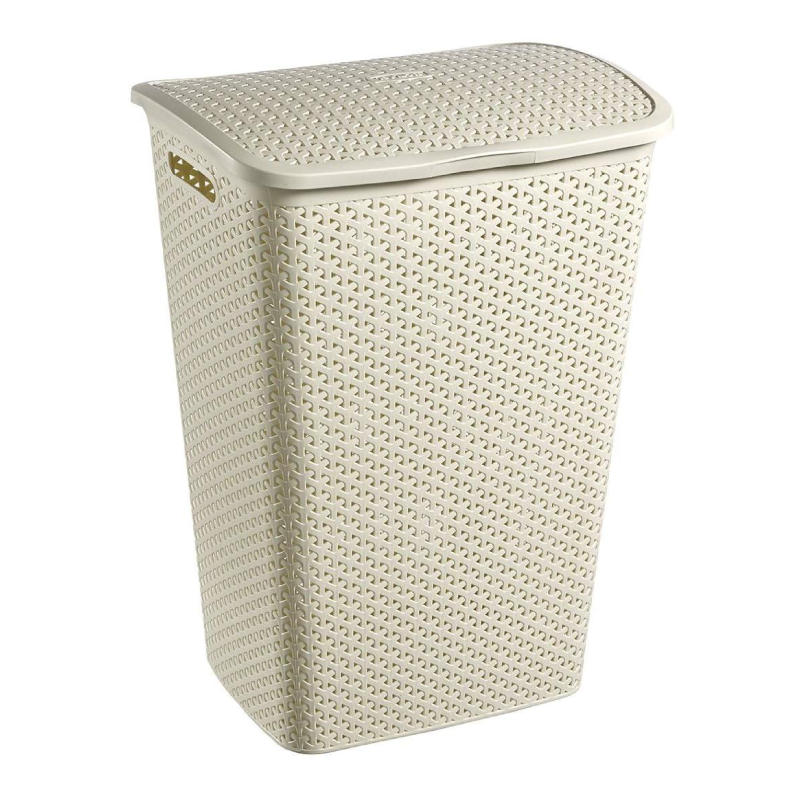 Curver My style 55L White Laundry Bins & Baskets