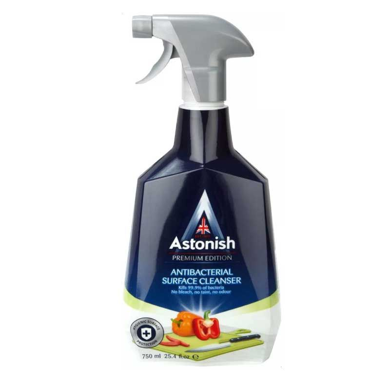 Astonish 750ml Premium Antibacterial Surface Kitchen Cleaner