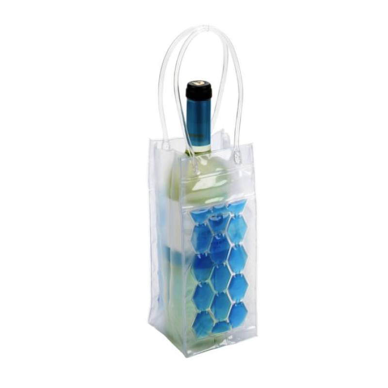 Pr 10x10x25cm PVC Bottle Cool Bag / Box