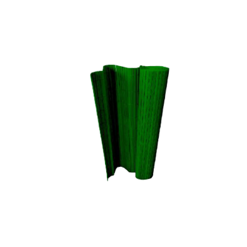 H&C Double Face Bamboo Fence Green 100x300cm PVC Fence