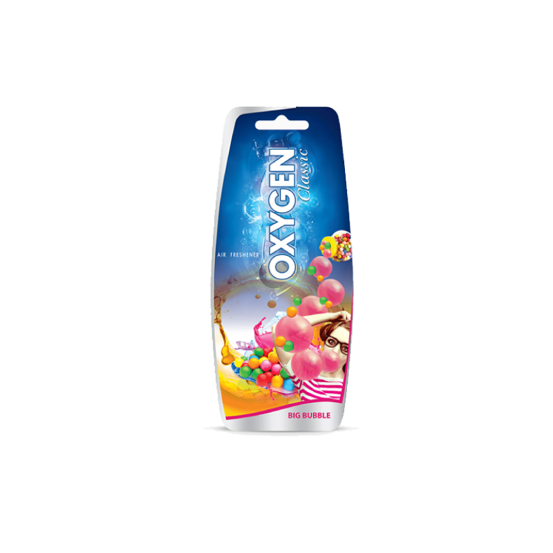 U Care Oxygen Bubble Hanging Paper Car Freshener