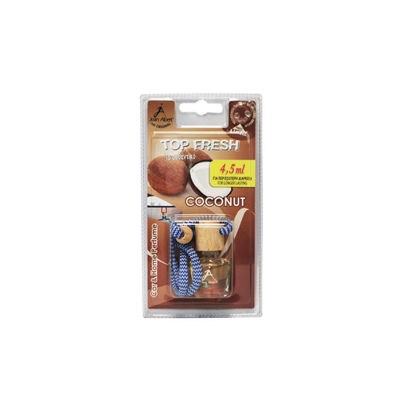 Jean Alber Coconut Hanging Bottle Car Freshener