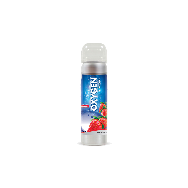 U Care Oxygen Strawberry Spray Car Freshener