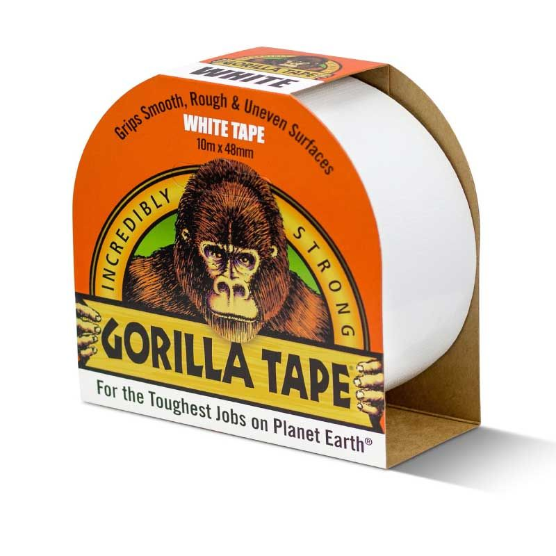 Gorilla 10m White Duct Tape