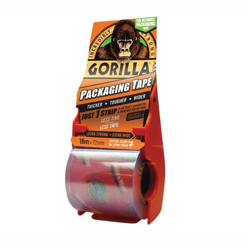 Gorilla Clear 72mmx18m Packaging Tape