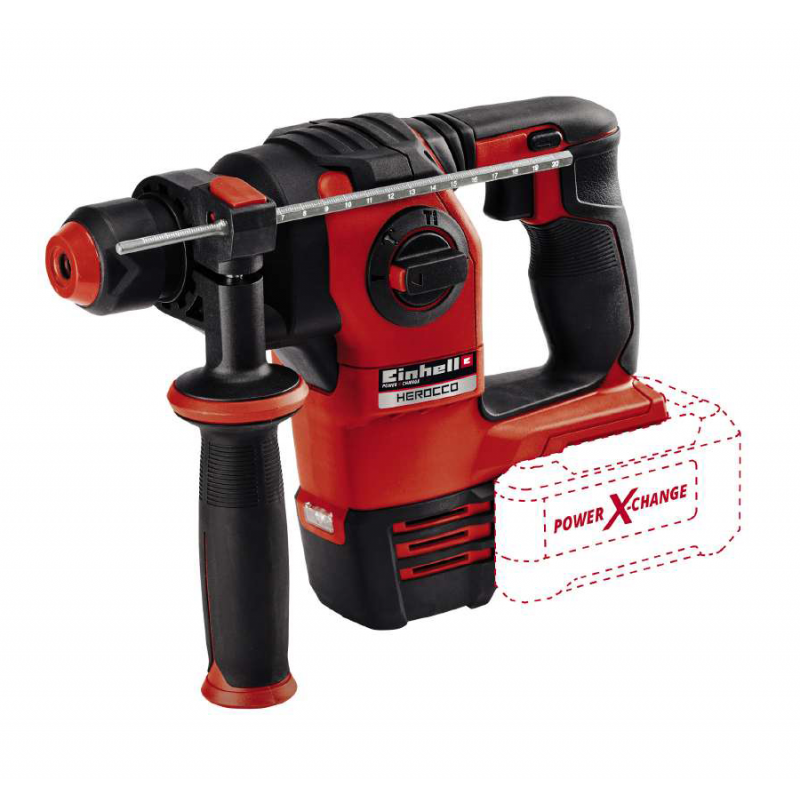 Einhell HEROCCO 4.38kg 18V Solo SDS Plus Drill - Bare