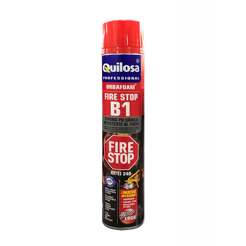 Quilosa PU-Orbafoam B1 Fire Stop 750ml Fire Rated Foam