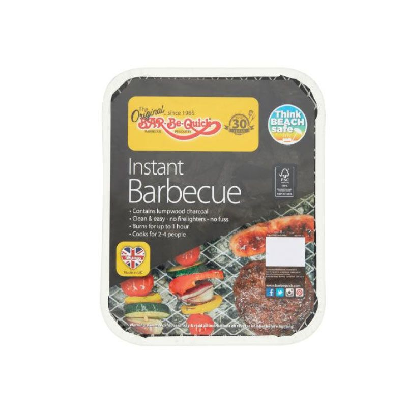 Rectella Bar-Be-Quick Medium Charcoal Instant BBQ