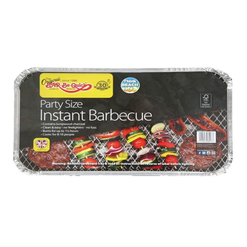 Rectella Bar-Be-Quick XLarge Charcoal Instant BBQ