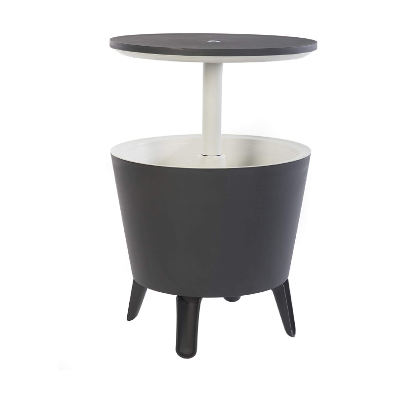 Keter Dark Grey Bar Table/Cool Box