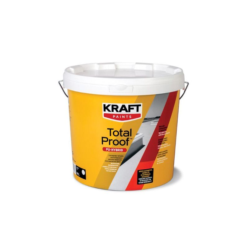 Kraft Total Proof PU Hybrid Damp Proof Paint White 3L