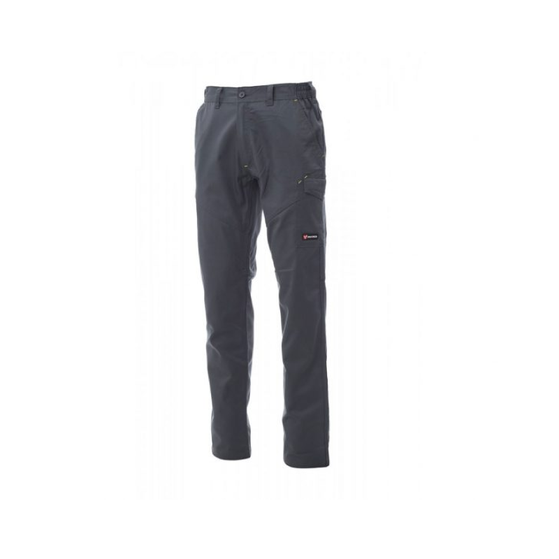 Payper Worker Pro Twil Cotton/ Polyester Smoke Workwear Trouser - S