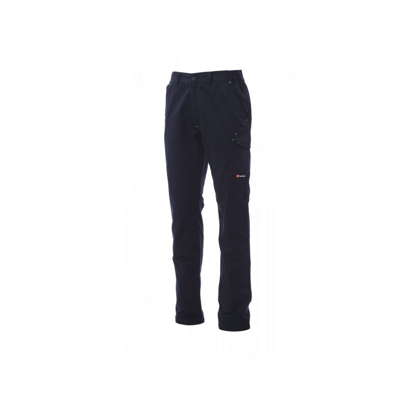 Payper Worker Pro Twil Cotton/ Polyester Navy Blue Workwear Trouser - S