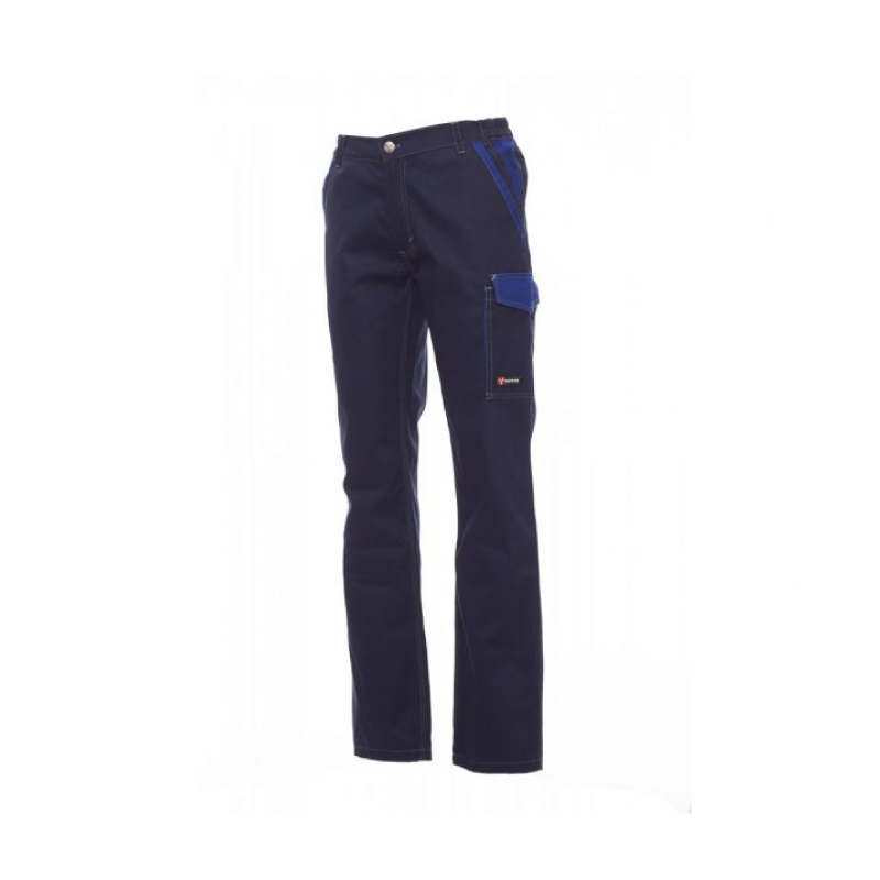 Payper Canyon Twil Cotton Navy Blue Workwear Trouser - S