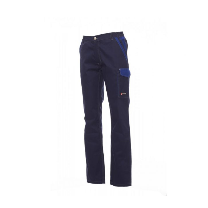 Payper Canyon Twil Cotton Navy Blue Workwear Trouser - L