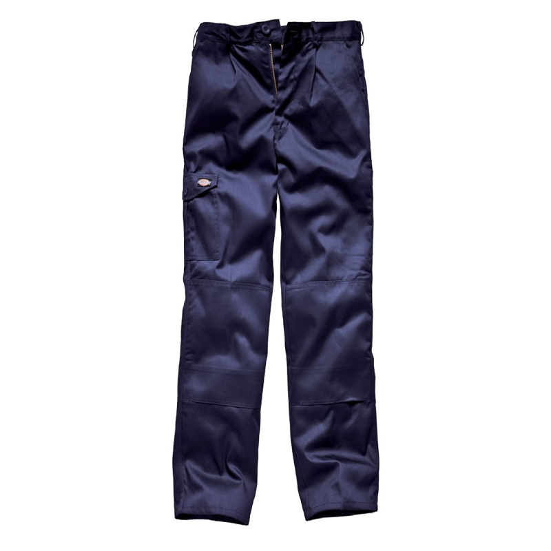 Caracas Cotton/ Polyester Navy Blue Workwear Trouser - S