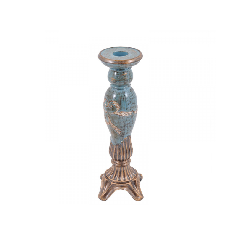 Polyserin 33cm Blue Candle Stick