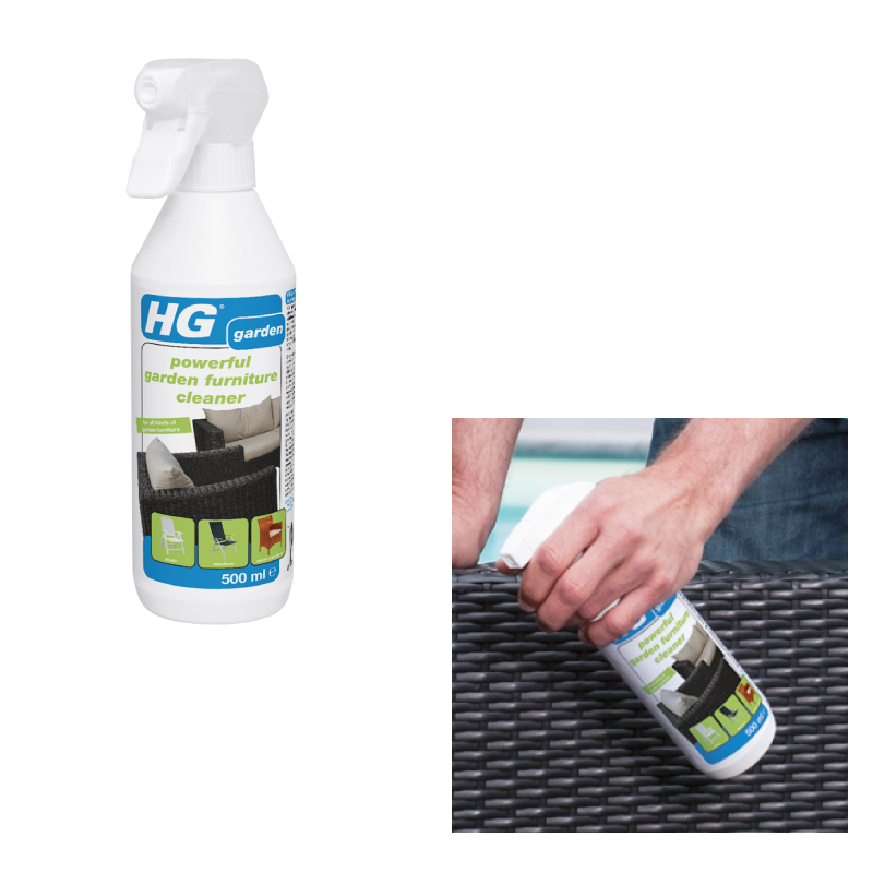 HG 500ML Dirt Garden Furniture Cleaner