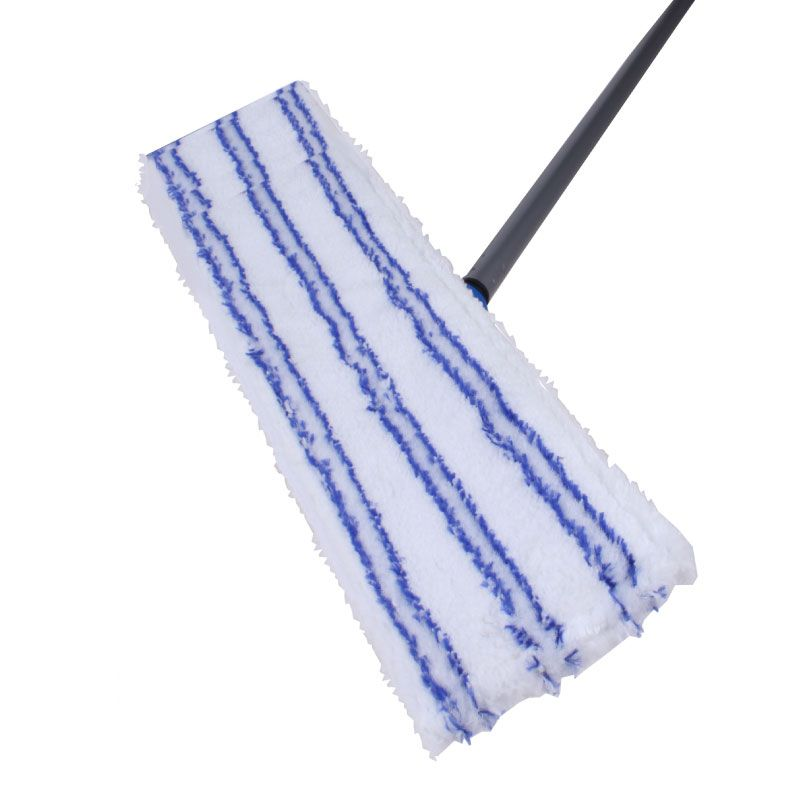 Lifetime White / Blue 118cm Microfiber Cleaning Floor Wiper