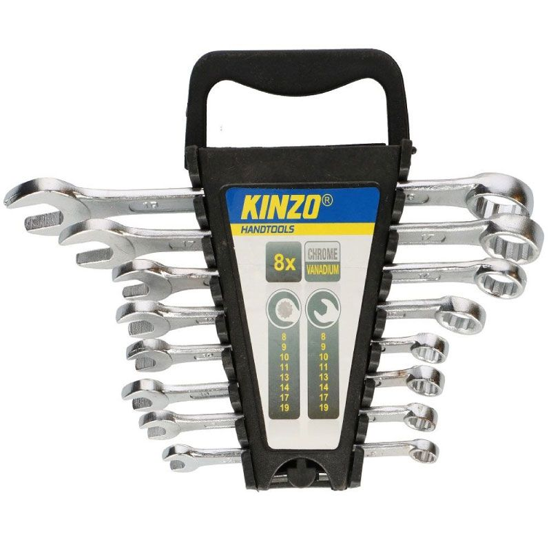 Kinzo 8-19mm 8ps Set Spanners