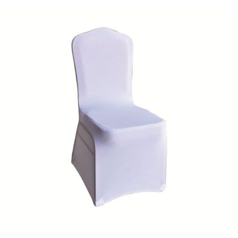 Hilton Ilona Extra Strong Elastic Fabric White Chair Cover