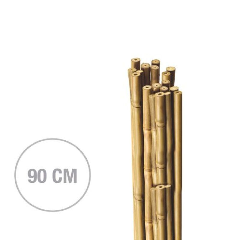 Natcare Vertical (H)90cm (D)8-10mm Bamboo Plant Supports