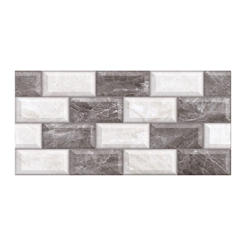 Amour Anthracite Mosaic GL 30x60 Indoor Wall Tile (Per M²)