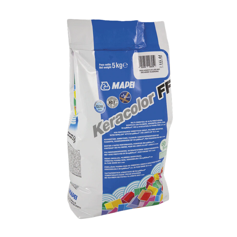 Mapei Keracolor FF Drop Effect White (DE 100) Cement Based Grout 5KG