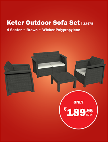 Keter Outdoor Sofa